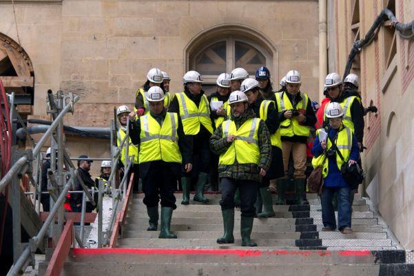 Visite de chantier du Pavillon Dufour