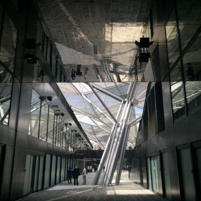Dominique Perrault inaugurates Piazza Garibaldi's gallery
