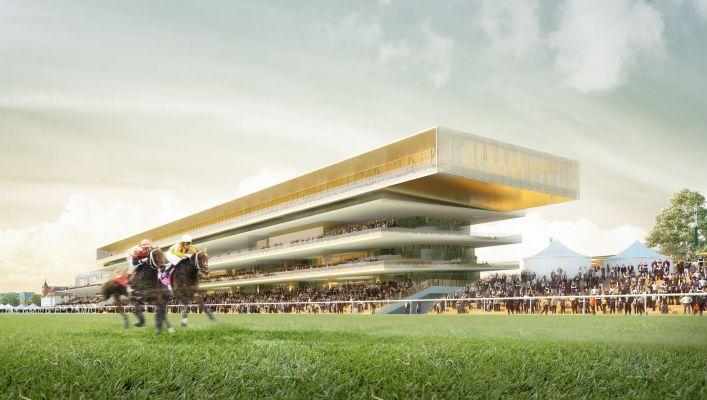 El nuevo hipódromo de Longchamp