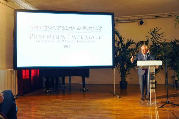 Dominique Perrault Named 2015 Praemium Imperiale Laureate!