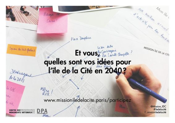 Lancement de la consultation - Mission Ile de la Cité - DPA X CMN