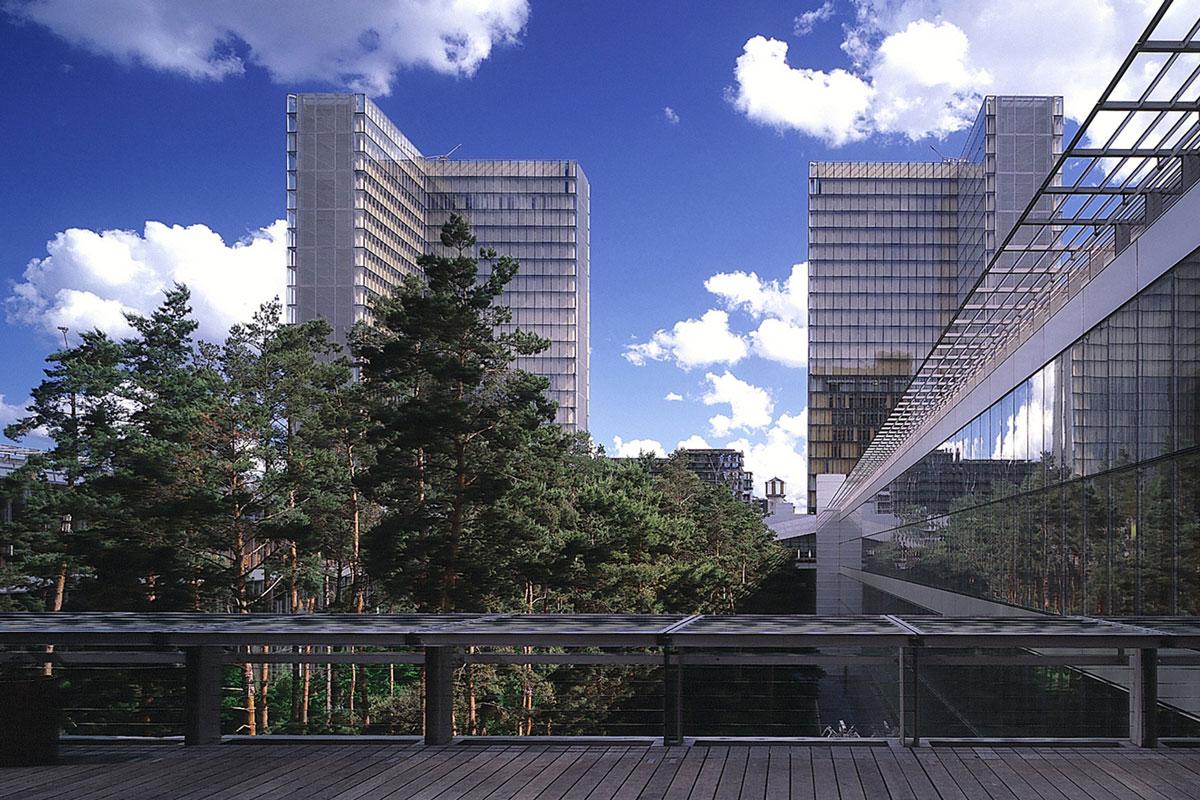 Dominique perrault architecture biblioth que nationale Architecture technique