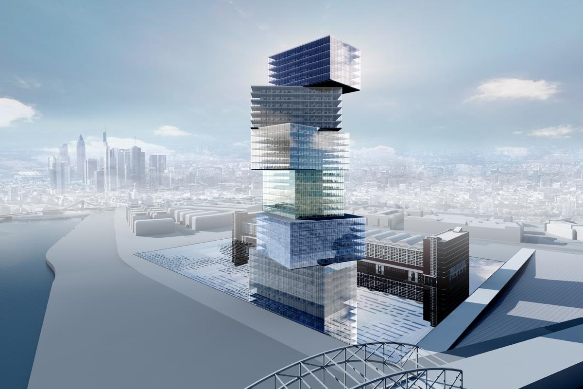 Dominique perrault architecture european central bank for Www architecture