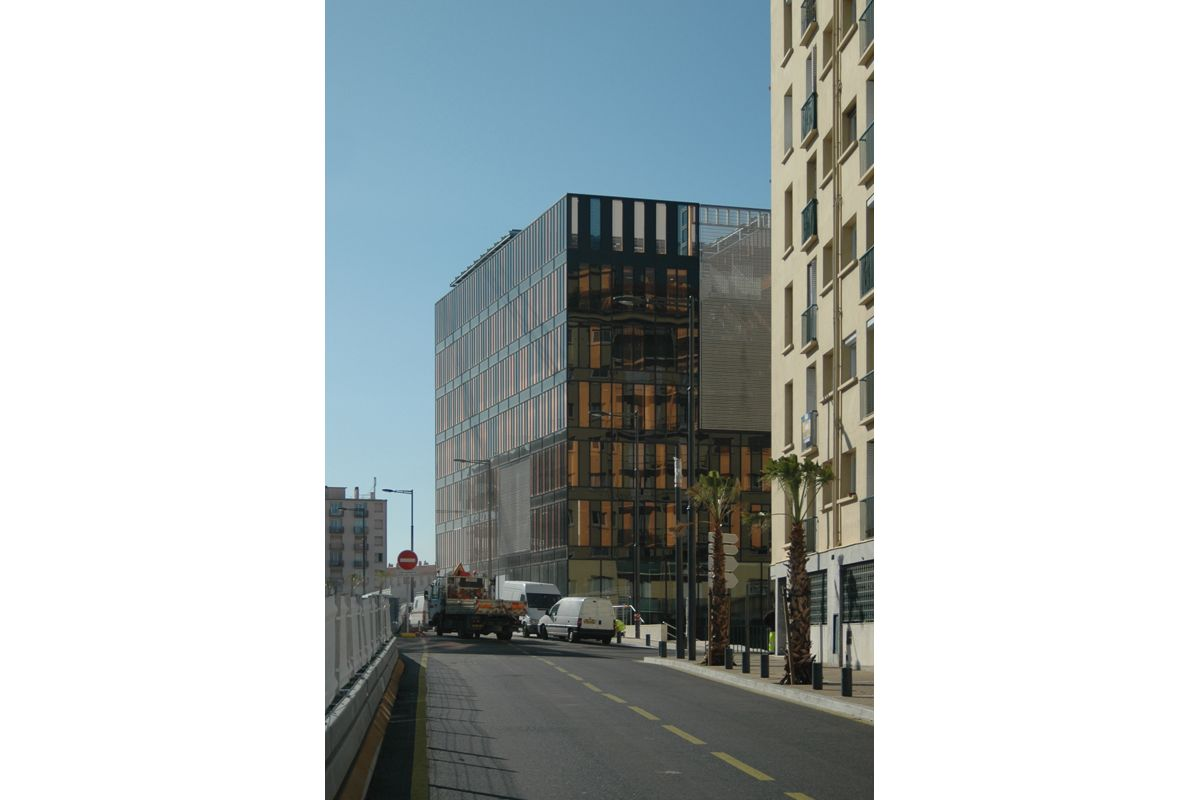 dominique perrault architecture greater perpignan 39 s office building. Black Bedroom Furniture Sets. Home Design Ideas