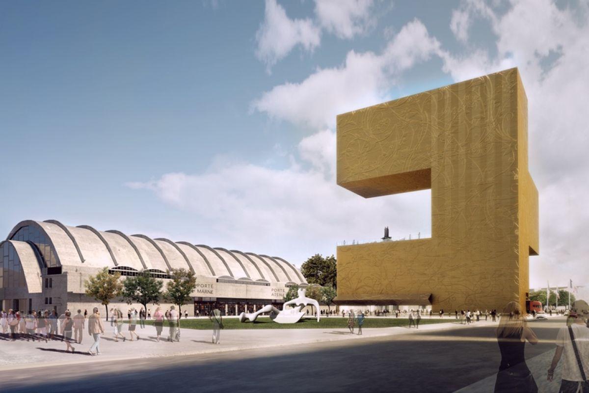 Dominique perrault architecture reims art museum for Architecture projet
