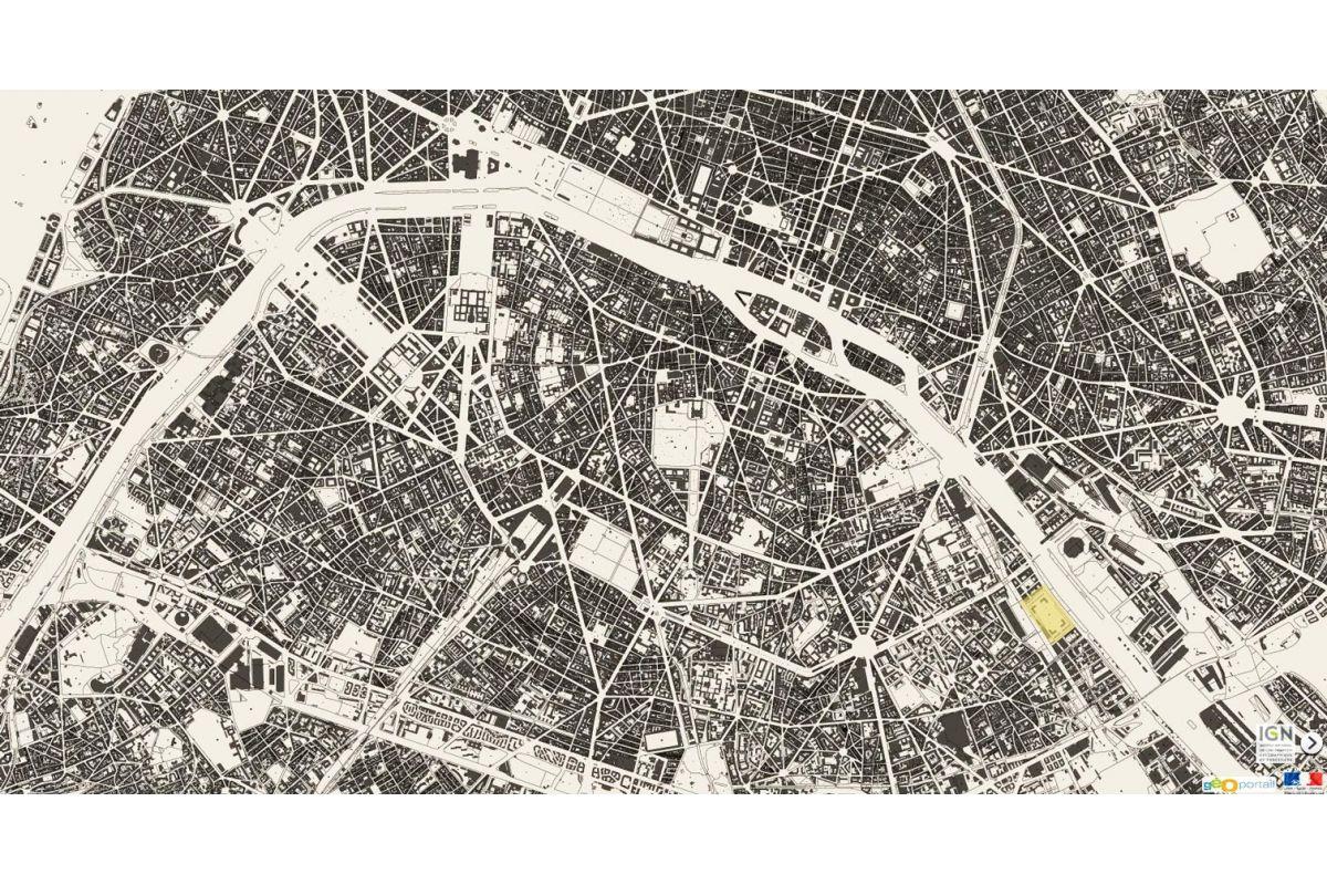 biblioteca nacional de francia urbanismo